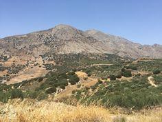 Het binnen land van Kreta