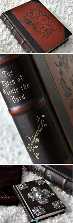 The Tales of Beedle the Bard, Collector's Edition, $243.44 - Outer case disguised as a wizarding textbook from the Hogwarts library. - 10 ready-for-framing prints of J.K. Rowling's illustrations- Exclusive reproduction of J.K. Rowling's handwritten introduction- 10 new illustrations by J.K. Rowling not included in the Standard Edition or the original handcrafted edition- Velvet pouch for book embroidered with J.K. Rowling's signature