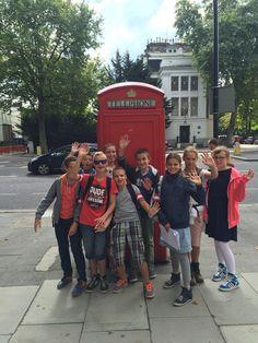 Deel van mijn mentorklas is #London