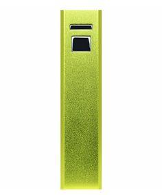 Green 3,000-mAh Powerbar Charger