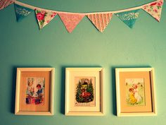 Such a cute idea for a child's bedroom or playroom! Frame pages from Little Golden Books!