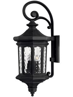 Raley Extra Large Outdoor Entry Sconce In Museum Black | House of Antique Hardware