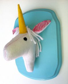 Because Christina sent it to me.  And it's like a pony.  But a unicorn.
