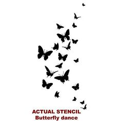 silk screen templates free butterfly - Google Search