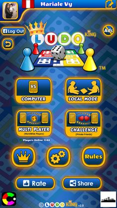 Ludo King, it's family game. Recall your childhood! I liked it too, Install & Play: iPhone/iPad: https://itunes.apple.com/app/id993090598 Android: https://play.google.com/store/apps/details?id=com.ludo.king