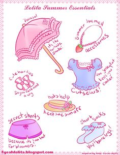Tips for Surviving the Summer in Lolita