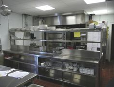 I miss my restaurant kitchen