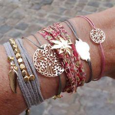 Bracelet stack.
