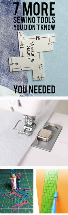 7 MORE Sewing Tools you didn't know you needed!