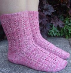 Dolce socks knitting pattern