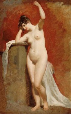 Female Nude Study by William Etty  (1825)