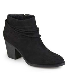 Black Rope Chase Bootie