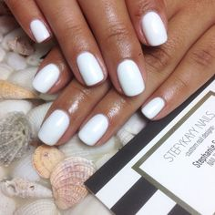 47 Stylish White Nail Designs and Ideas For This Kasus white gel nails The post 47 Stylish White Nail Designs and Ideas For This Kasus appeared first on Berable. 47 Stylish White Nail Designs and Ideas For This Kasus White Short Nails, White Gel Nails, Short Gel Nails, White Nail Polish, Gel Nail Polish, White Manicure, Gel Opi, Gel Manicures, White Nail Designs