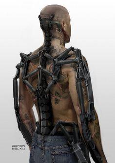 Elysium concept art shows the super unsanitary bioware of the future