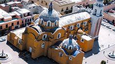 Iglesia de San Jose en el centro de Tlaxcala