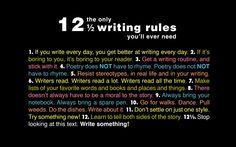 12 Writing Tips