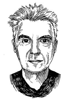 David Byrne, by Tony Millionaire