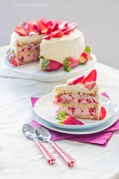 Very-Strawberry Torte - a matter of taste - food & travel blog