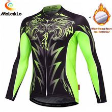 US $21.75 Malciklo Winter Men's Cycling Jerseys Motorcycle Motocross Racing Thermal Fleece MTB Bike T shirt Jerseys Wear Cycling Clothings. Aliexpress product