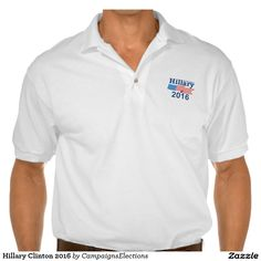 Hillary Clinton 2016 Polo T-shirt