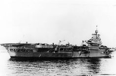 A view of HMS Illustrious. Possibly 1940