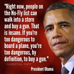 Regulation is not about taking guns away - it's about making sure only responsible citizens can legally own them!
