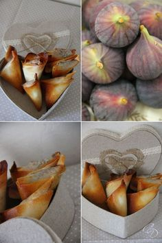Puff pastry fig fig basil - The touch of Agathe - Toasts and vegeta . Veggie Recipes, Cooking Recipes, Clean Baking Pans, Vegetarian Appetizers, Appetizer Recipes, Food For Thought, Cooking Time, Food Inspiration, Love Food