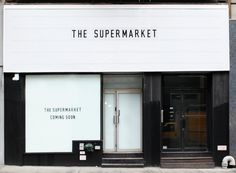 Ideas Exterior Signage Design Retail Shop Fronts For 2019 Storefront Signage, Retail Signage, Wayfinding Signage, Signage Design, Design Light, Design Café, Store Design, Retail Facade, Shop Facade