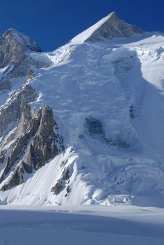 The route to the summit, Gasherbrum 2, 8035m