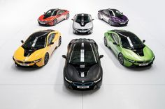 BMW i8 Gets New 'Individual' Color Options (UK)