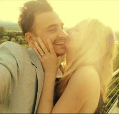 Candice Accola and Joe King from The Fray