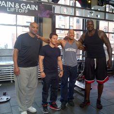 Shaq looks like he ate me, Charles, The Rock AND John Cena. #TBT
