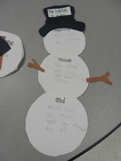 """Beginning middle and end """"The Mitten"""""""