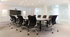 Meeting room into Coty's premises in Paris, France