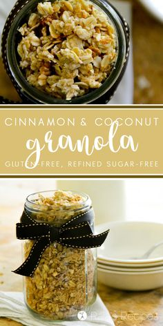 ... Oats + Granolas on Pinterest | Granola, Granola Bars and Muesli Bars