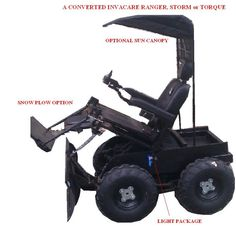 4X4 WHEELCHAIR built by the Wheelchairconversions.com