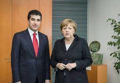 Nechirvan Barzani   - Dr. Angela Merkel