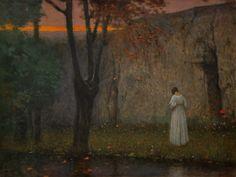 Jakub Schikaneder, Autumn Sunset, 1910