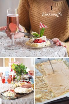 Cafe buffet / idea 1 for a bachelorette party