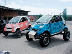 The 2008 Smart Fortwo Isn't Simply Smart By Name; It's Also The Smart Choice For City Drivers. 4x4, Smart Humor, Mini Car, Car Camper, Smart Fortwo, Lifted Cars, Off Road Adventure, Old Motorcycles, Car Colors