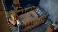 Baby Eckchen Baby Corner Miniature 1 : 18 handmade von minis4you