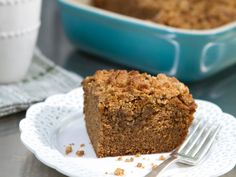 Coffee Coffee Cake : While many coffee cakes don't feature one seemingly obvious ingredient — coffee — Trisha's recipe lets…