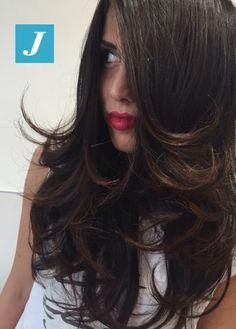 Degradé Joelle dark chocolate, Taglio Punte Aria and Piega Glamour. You don't need nothing else. #cdj #degradejoelle #tagliopuntearia #degradé #igers #naturalshades #hair #hairstyle #haircolour #haircut #longhair #style #hairfashion