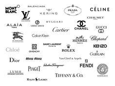 27 Ideas For Fashion Logo Design Luxury Logo Luxury, Luxury Logo Design, Fashion Logo Design, Luxury Branding, Balenciaga, Givenchy, Mode Logos, Trendy Fashion, Fashion Brands