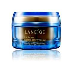 KOREAN COSMETICS, AmorePacific_ LANEIGE,Perfect Renew Cream 50ml (wrinkles, loss of elasticity, skin pull, dullness, anti-aging, Intensive Care,Elasticity)[001KR] by LANEIGE. $90.00. Note to the first users : If you have  not used this item before, try the cosmetic with small amount on your skin. If you find any trouble with the product, please stop using and discuss with your skin expert or doctor. If you have any allergy or trouble with the ingredients of prod...