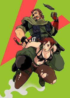 Quiet And Venom Snake Metal Gear Solid V:The Phantom Pain