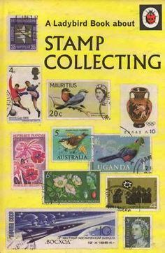 STAMP COLLECTING Vintage Ladybird Book Hobbies Series 633