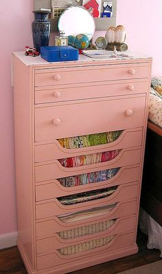 must find one of these dressers! crafting, quilting & stash storage