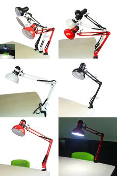 [Visit to Buy] 5W 400LM Foldable Long-Arm Book Reading Lights E27 Clip-on Desk Lamp (AC110~220V), free shipping #Advertisement