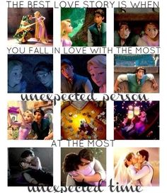 Disney Rapunzel and Eugene. Tangled will forever be on my top 5 favorites list.